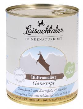 Loisachtaler Hundenaturkost Mittenwalder Gamstopf